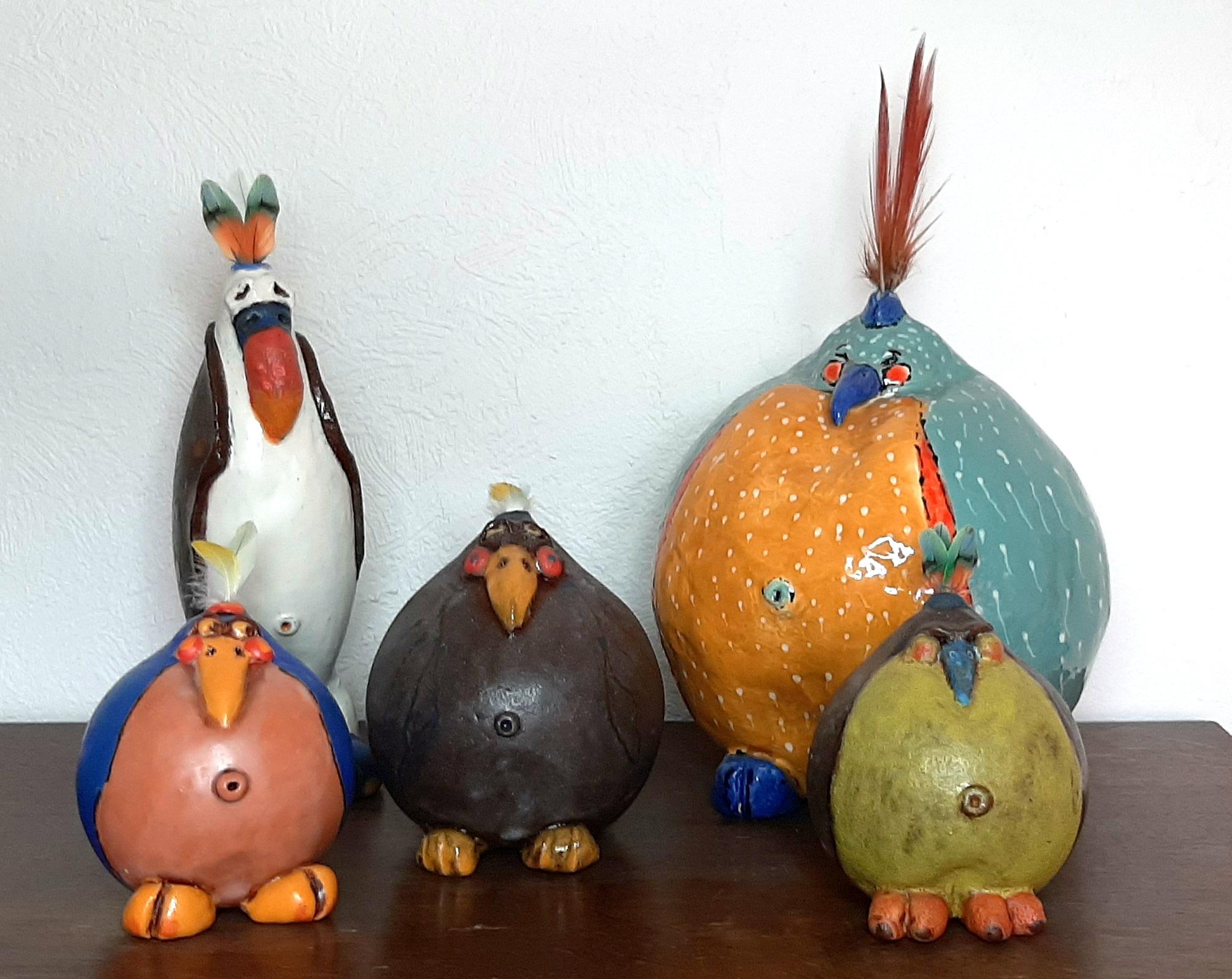 Vogels keramiek